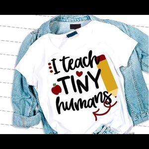 I Teach tiny humans